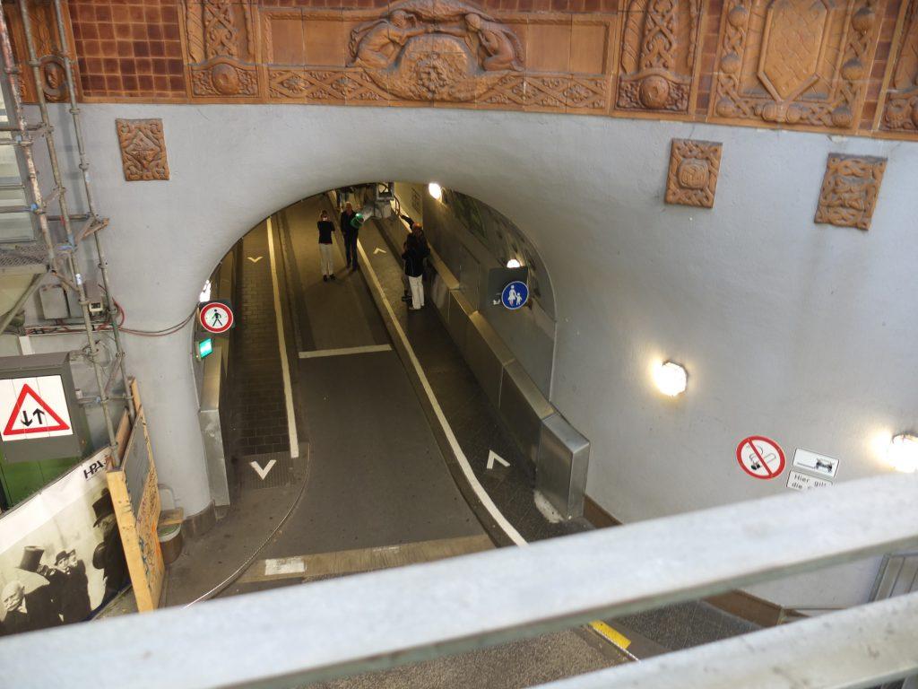 Old Elbe Tunel