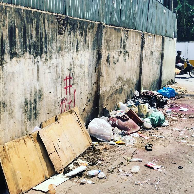 Odpad v Kambodži