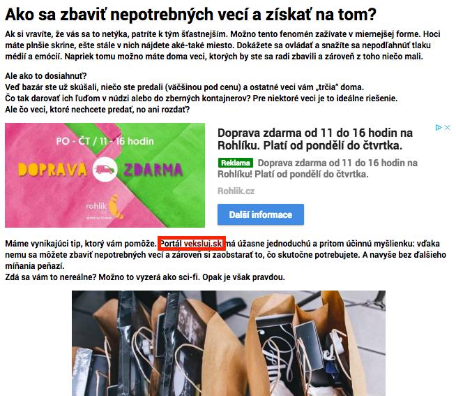 a3b8446c1 PR články ako nutné zlo pre linkbuilderov | Gabka Koščová